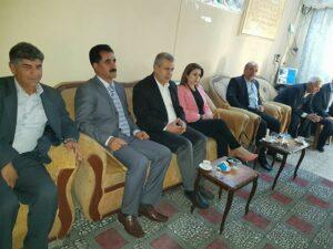 Şanda partiya Yekîtiya Demokrat ya Kurd serdana navenda partiya Yekîtî li Hewlêrê kir