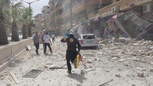 Balafirên Rûsyayê parêzgeha Idlibê bombebaran kirin