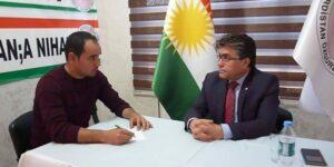 Mistefa Ozçelîk: alaya Kurdî simboleke Kurdistanî ye, û şewitandina wê li Amûdê cihê şermezariyê ye