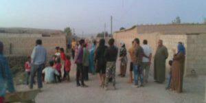 Asayişa serbazî ya PYD êrîşî gundê Qeçelê yê gundewarê Amûdê kir
