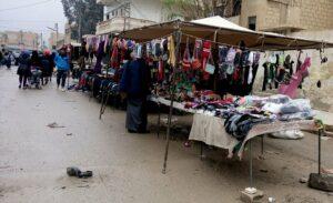Bazarên gelîrî li bajarê Hesekê