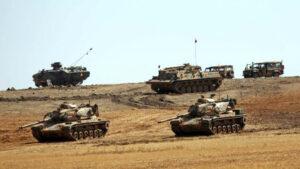 Artêşa Tirkiyê 20 tank şandin ser sînorê Sûriyê û qunaxa duyem ya operasiyona Babê destpêkir