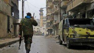 Rewangeha Sûrî : derketina çekdarên opozisyonê ji Helebê hate lipaşxistin
