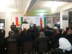 Yekîtiya Nivîskarên Kurdistana Sûrya rojên Qamişlo yên çanda Kurdî bi dawî kirin