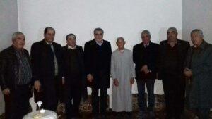 Partiya Yekîtî serdana helbestvanê Kurd Ehmedê Şêx Salih kir