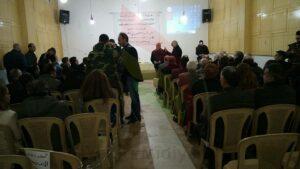 Şandên Kurdî ji ahenga xelatkirina Rojnamevana li Mutraniya Suryanên Katolîk li Hesekê vekişiyan