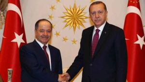 Civîna Barzanî û Erdogan dest pê kir