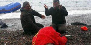 Heşt welatiyên Efrînê di deryaya Îcê de xeniqîn