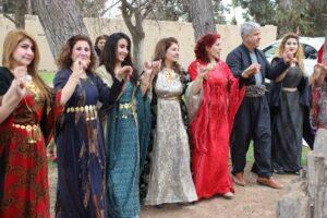 Li bajar û bajarokên Kurdistana Sûriyê cejna Newrozê hat pîrozkirin