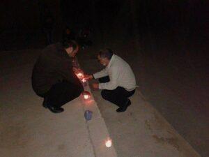 jibo bîranîna 12 Adarê li bajarên Kurdî şemal hatin vêxistin