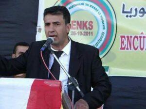 Asayişa PYD Azad Ebdilrehman serbest berda
