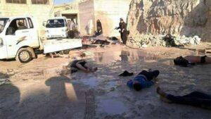 Li gundewarê Idlibê bêtirî 100 kesî bi çekên kîmawî şehîd bûn