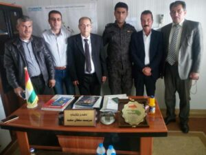 Kurdistan : partiya Yekîtî çend berpirsên kampa Dareşukranê xelat kirin