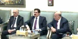 Şanda Kurdistanê ligel Serokomar û Serokê Parlamentoyê Iraqê civiya