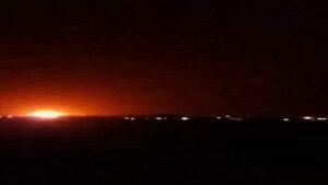 Îsraîl embareke çekan li nêzîkî firokxaneya Şamê bombebaran kir
