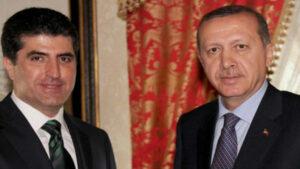 Erdogan pêşwaziya Nêçîrvan Barzanî li Istanbolê dike