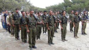 Li Efrînê çekdarên PYD pîremêrên 60 salî bo leşkeriya bizorê dibin