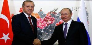 Potîn û Erdogan li ser çend xalan derbarê Sûriyê li hev kirin