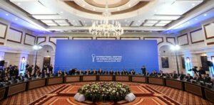 Şandên beşdar di Astana de li ser deverên aram lihevkirin