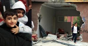 Li Silopî zirpoşa polîsan 2 zarok kuştin