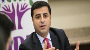 Demîrtaş: Pirsa Kurd çareser nebe, aştî pêk nayê